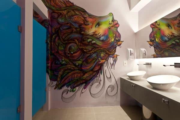 Ambientes de banheiro masculino e feminino fazem sucesso!