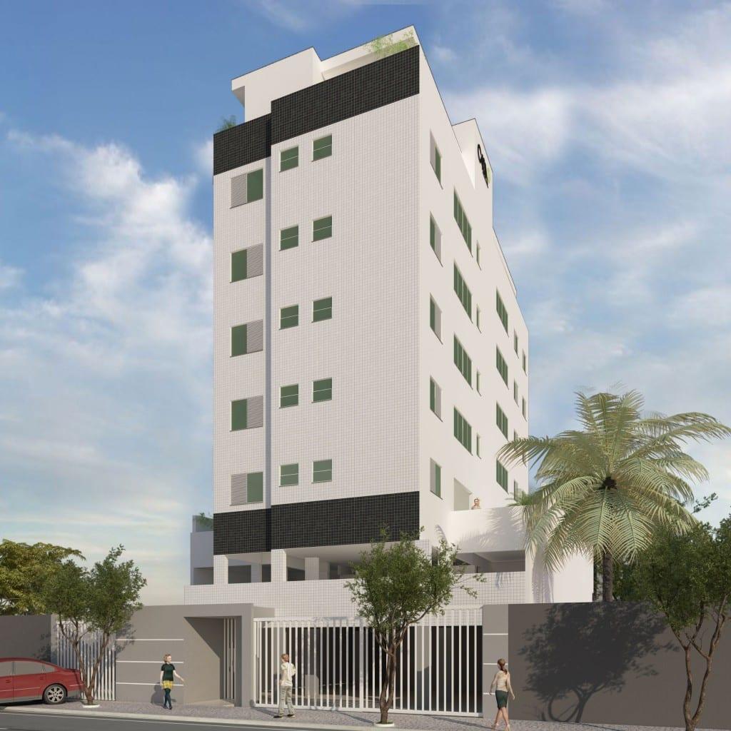 Edifício Haroldo Andrade com fachada de ecogranito - Casa Mais