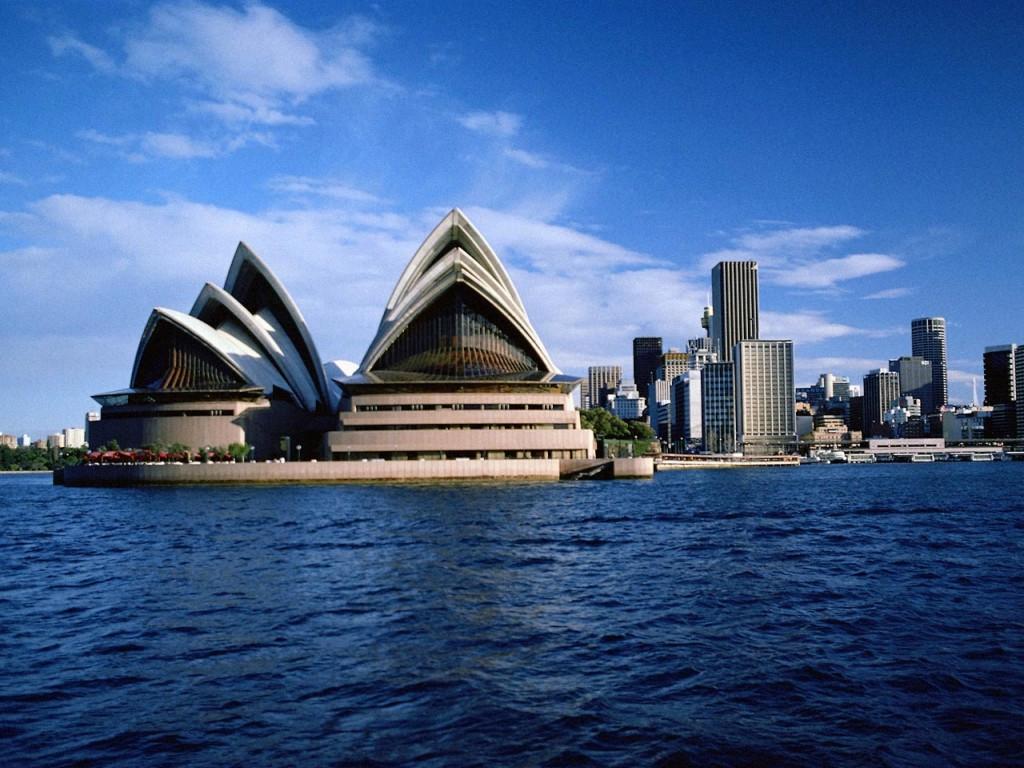 Visita chegou ao Ópera House em Sidney - Austrália