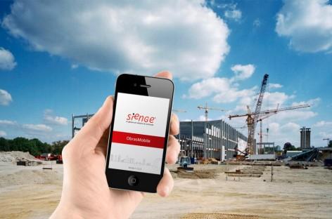 Sienge: software de gestão de obras agora disponível para celular!