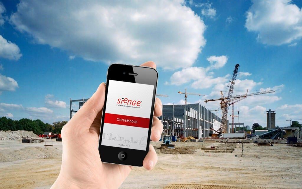 Software de gestão em obras para Smartphone