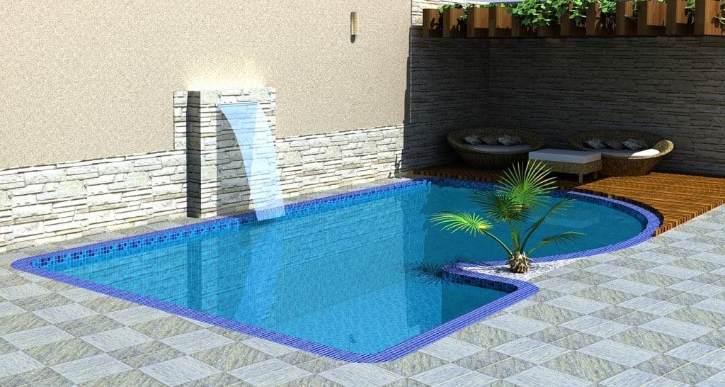 Tipos de piscinas - Vinil