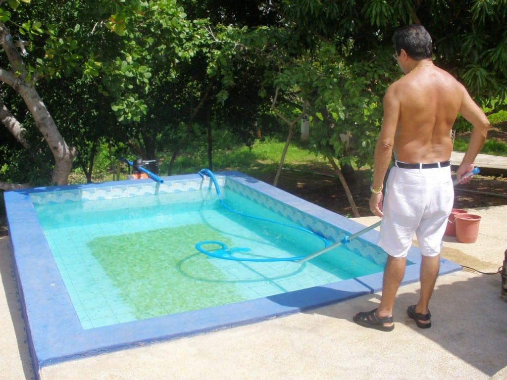 Cuidados com sua piscina
