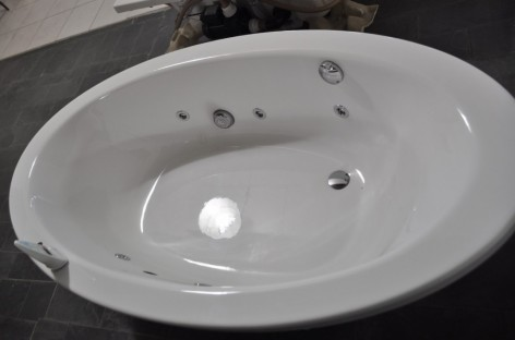 Banheiras em acrílico
