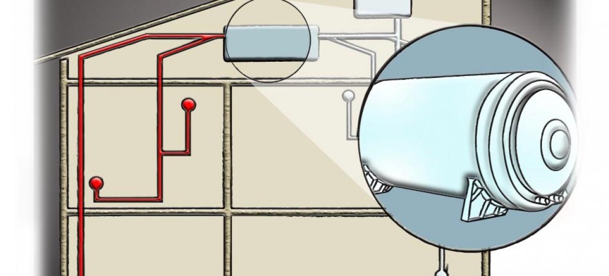 Aquecedor de água elétrico