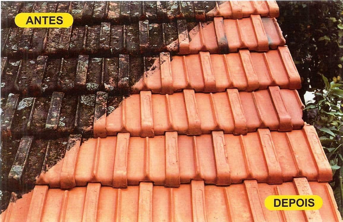 A lavagem dos telhados é um cuidado básico que pode oferecer boa aparência e evita o acúmulo de sujeiras. (Foto: Divulgação)