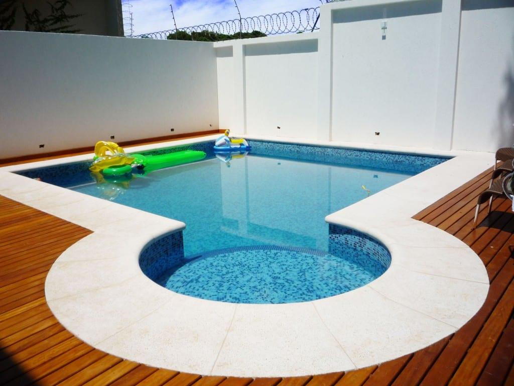 Tipos de piscinas - Concreto