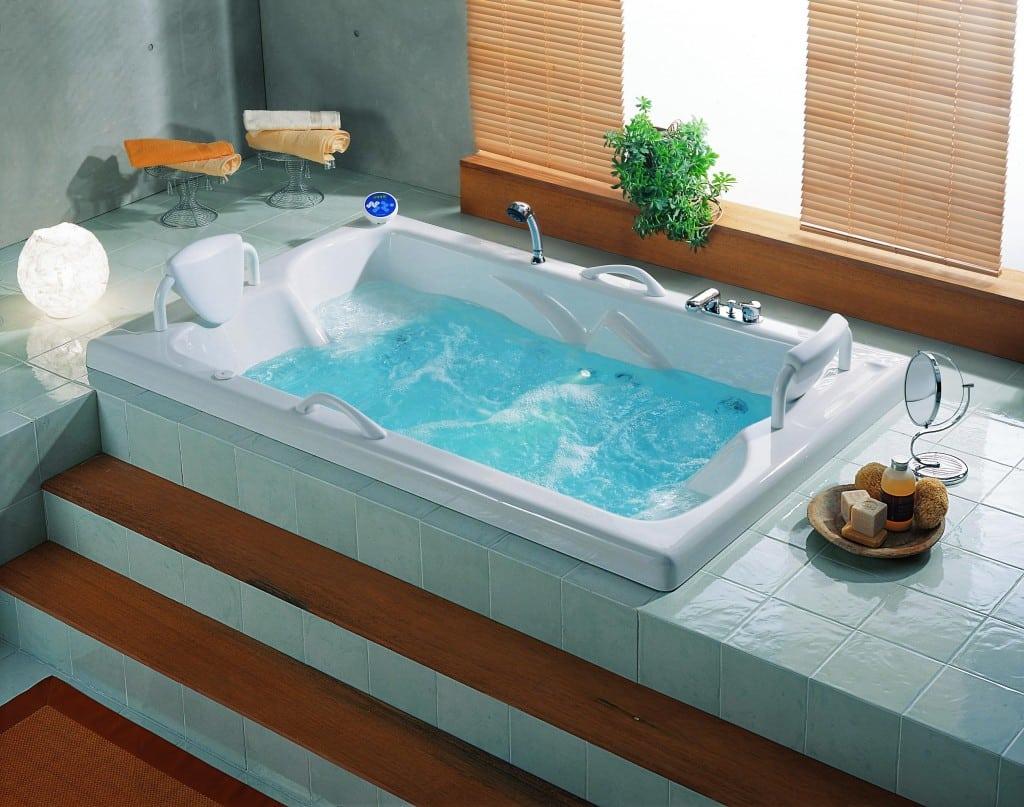 Tipos de banheiras - Banheira de hidromassagem