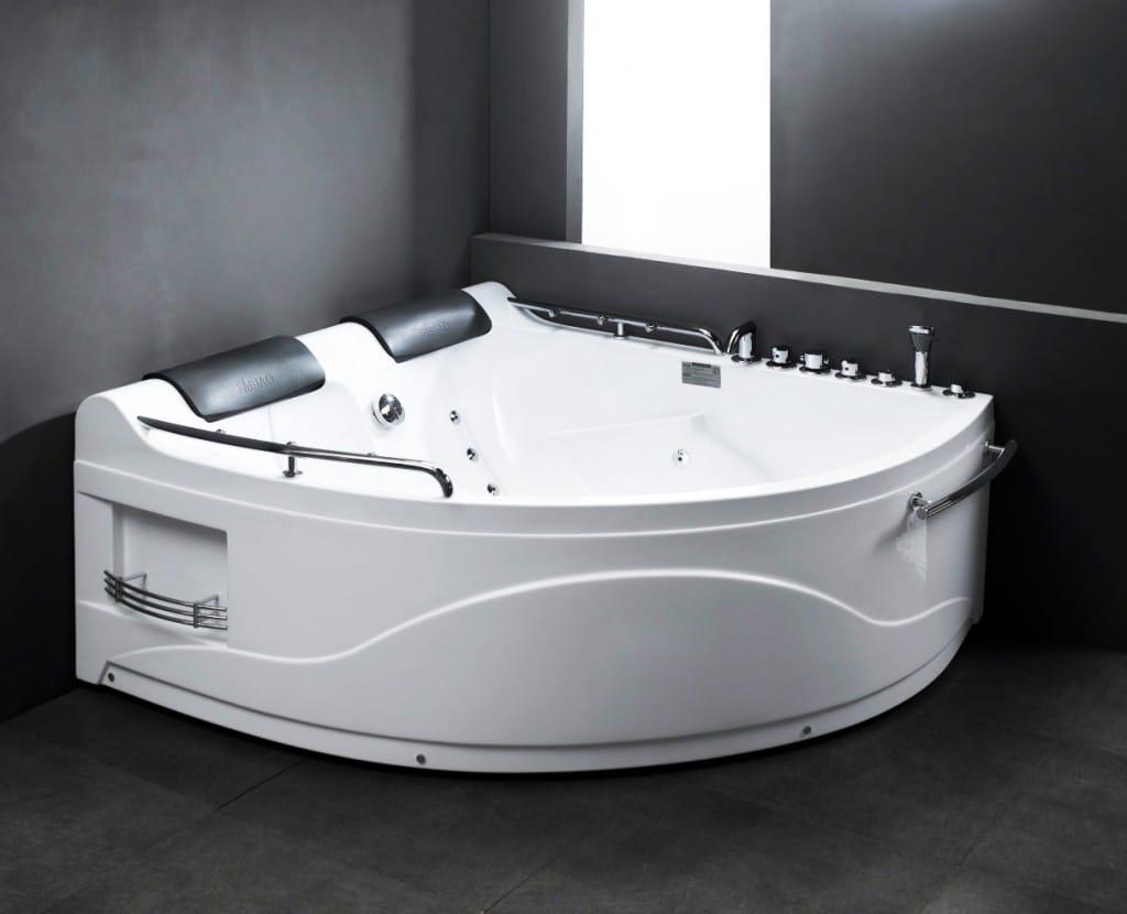 Tipos de banheiras - Banheiras em acrílico