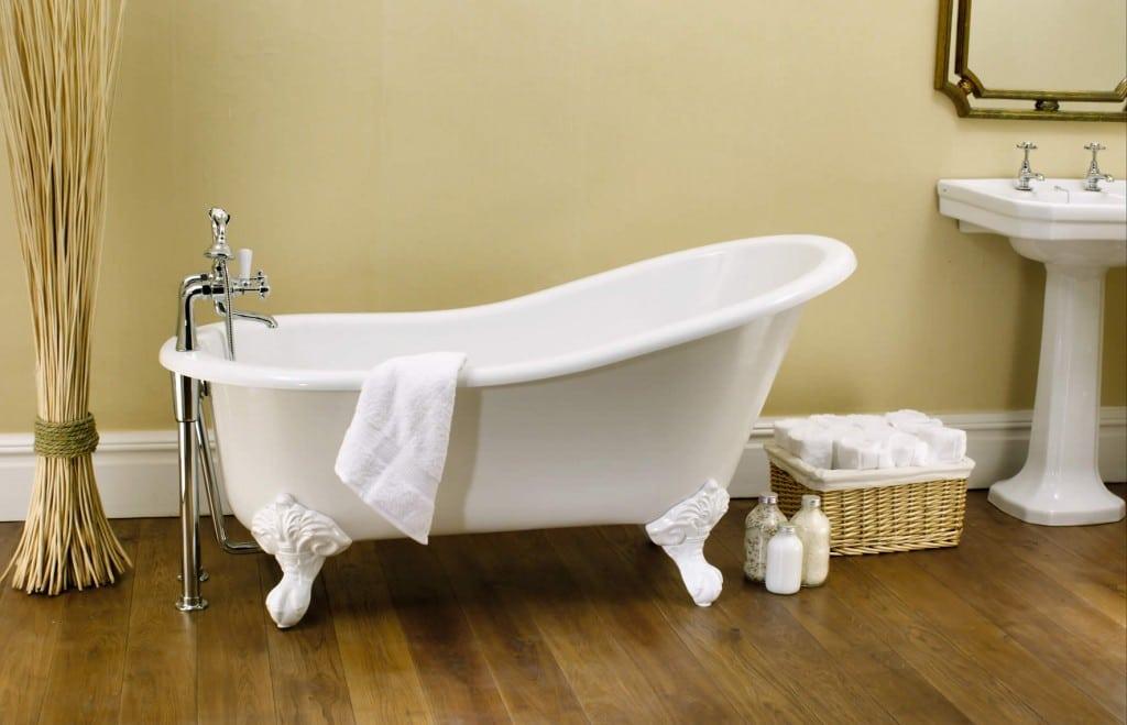 Tipos de banheiras - Banheira vitoriana
