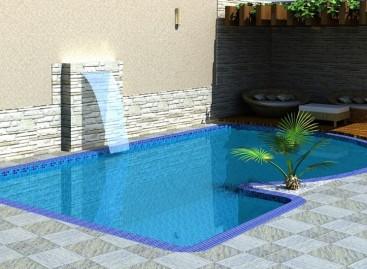 Cascatas para piscinas: veja dicas e modelos