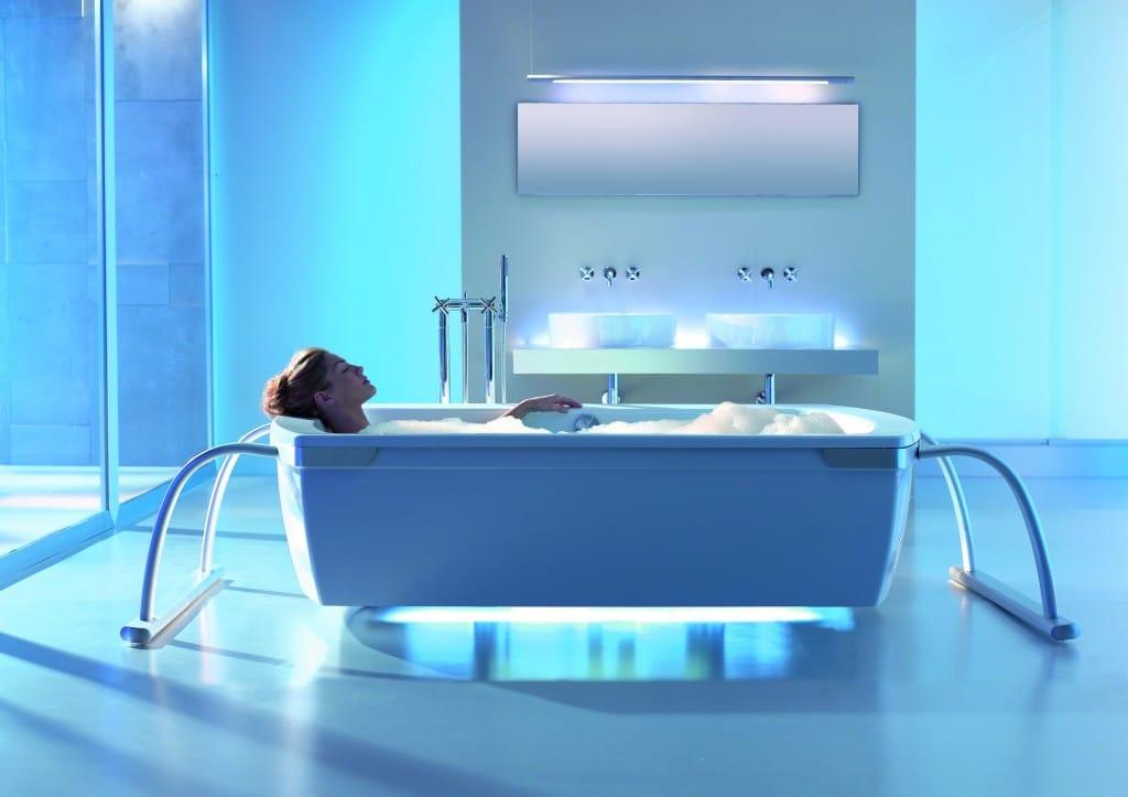 Tipos de banheiras - Banheira contemporânea