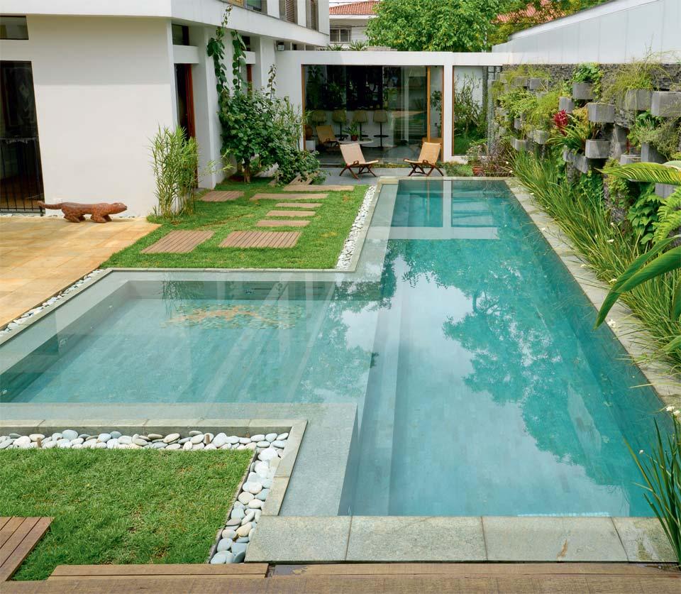Piscina de concreto reforma f cil - Cemento para piscinas ...