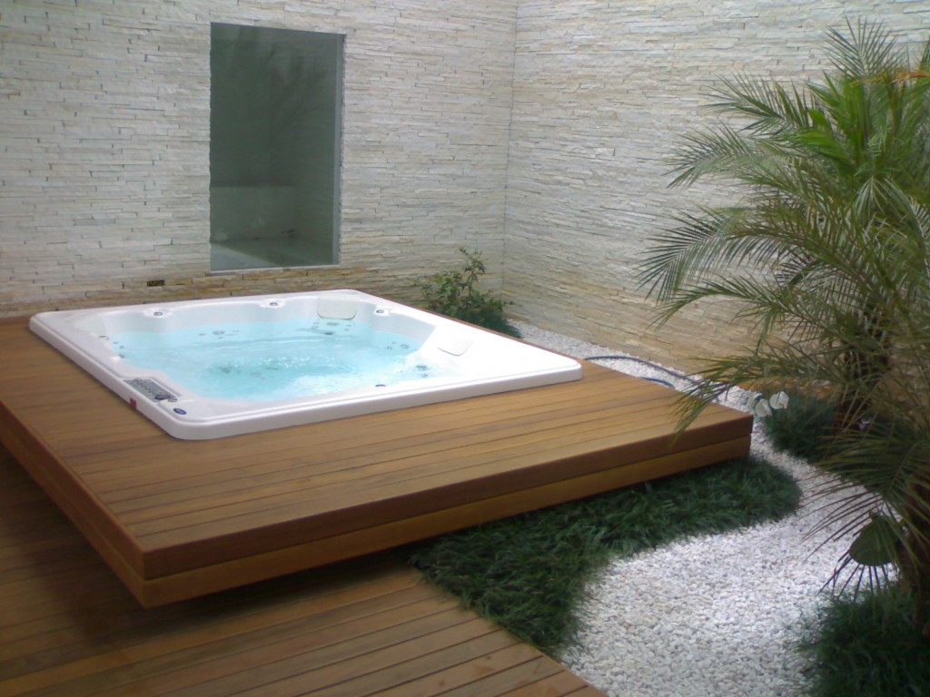 Tipos de banheiras - Banheira SPA