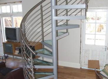 Escada de fibra de vidro