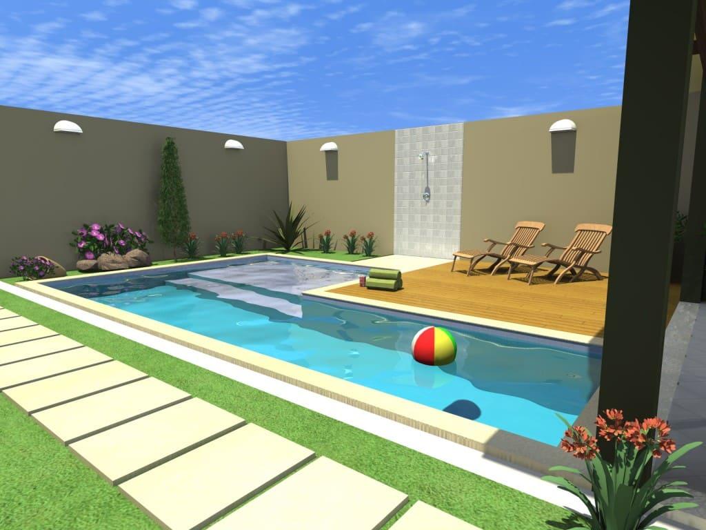 Projetos de piscinas ideias para inspirar reforma f cil for Modelos de reposeras para piscinas