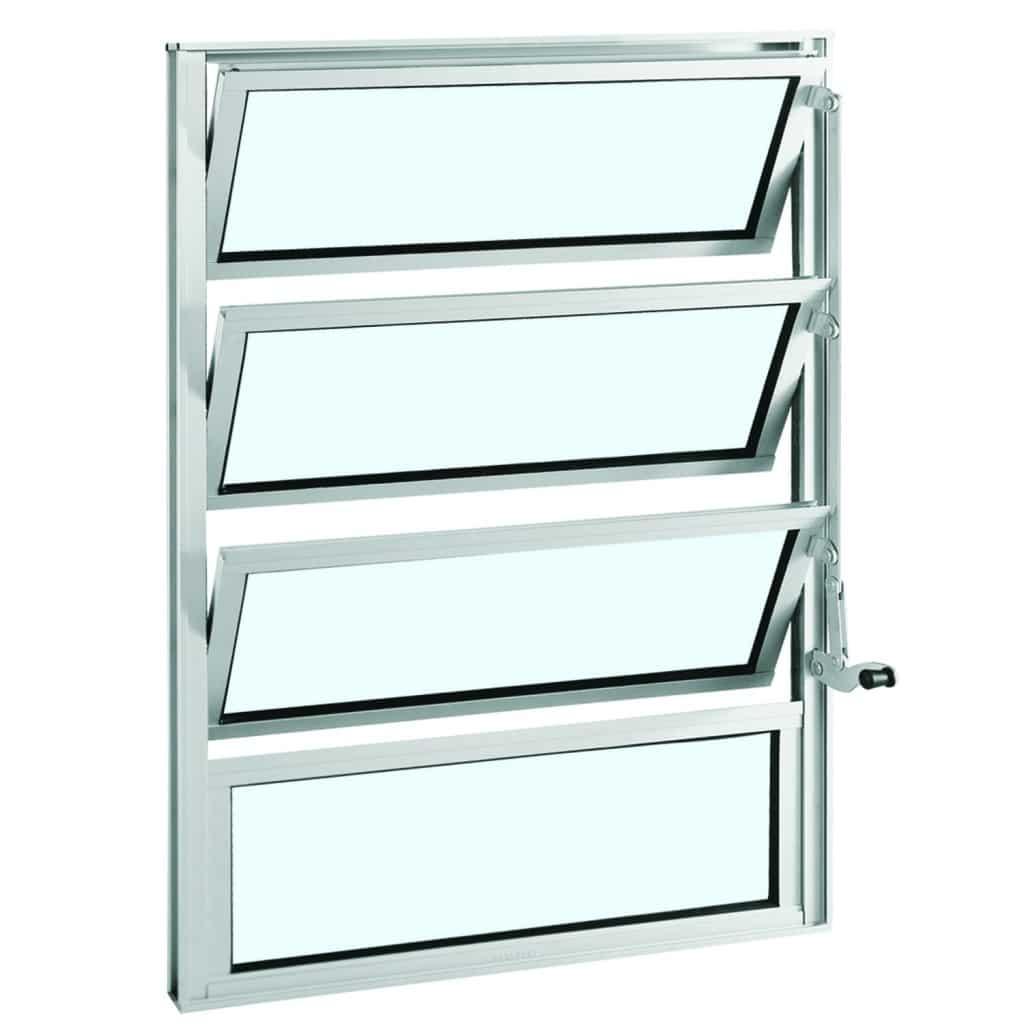 #408B81 Janelas basculantes vantagens e modelos janela com várias folhas  1326 Preço De Janelas De Aluminio Em Juiz De Fora