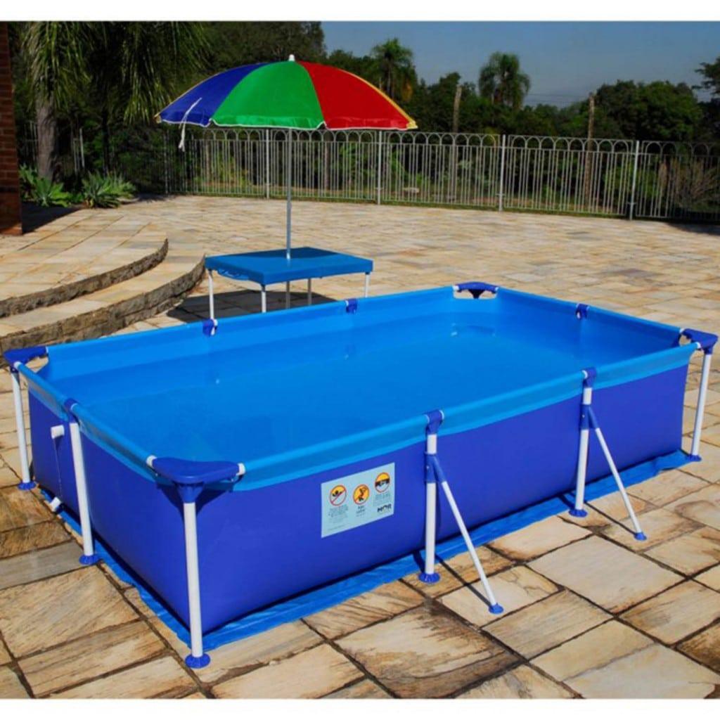 Piscinas de pl stico vantagens e modelos reforma f cil for Modelos de piscinas medianas
