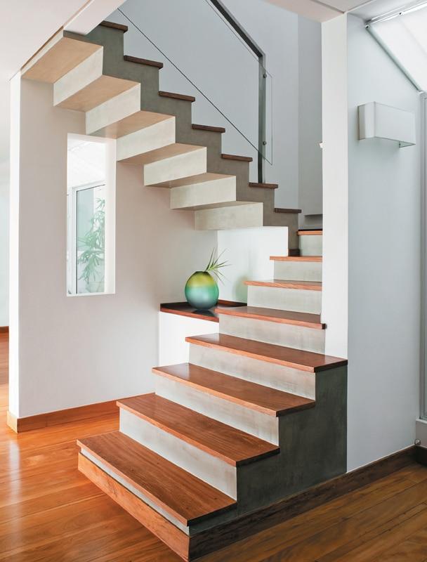 Escada de alvenaria (Foto: Divulgação)