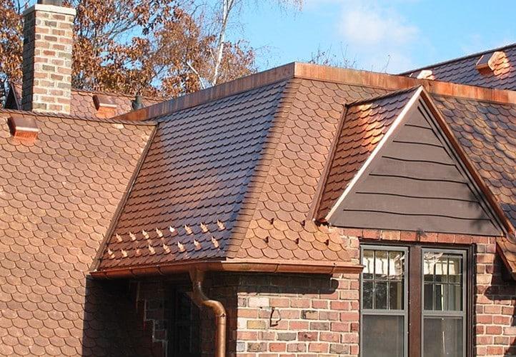 Telhas de cobre, saiba mais sobre esse material. (Foto:Divulgação)