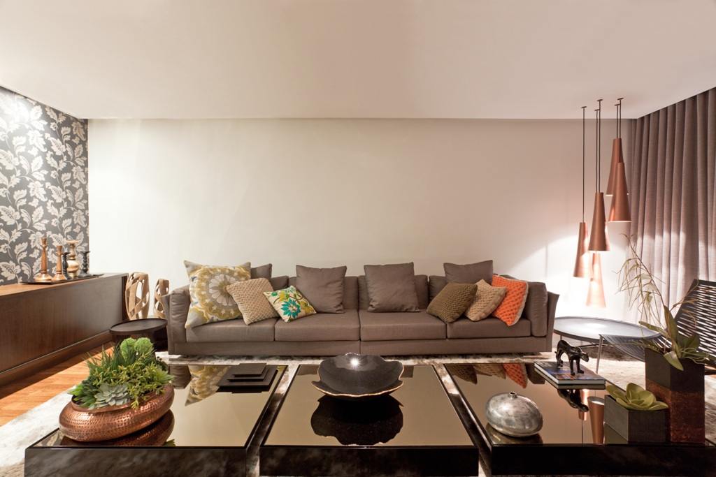 Sofá e almofadas, dicas para acertar na combinação!. (Foto:Divulgação)