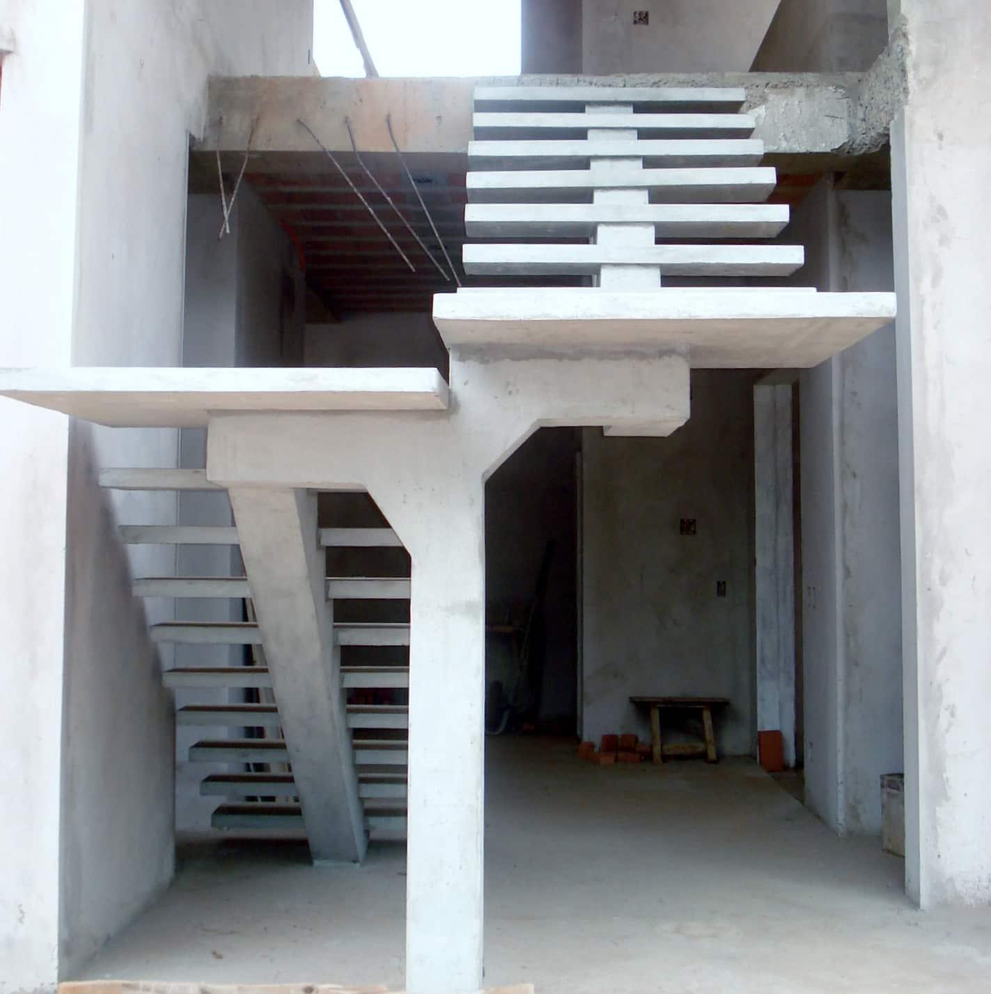 Escada Pré-fabricada (Foto: Divulgação)