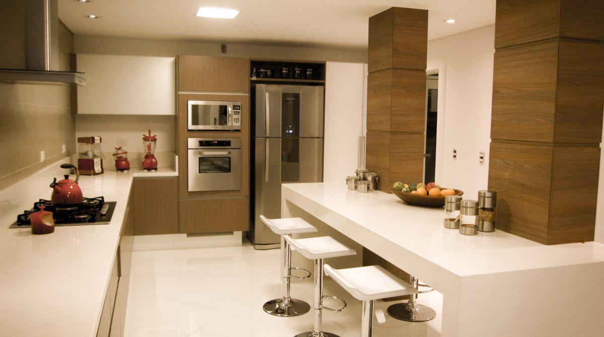 Iluminação correta para cozinha