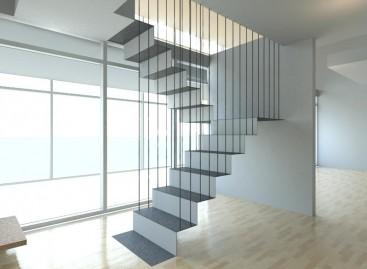 Escada flutuante, confira a beleza desse modelo!