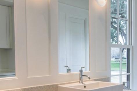Banheiros: iluminação bem pensada para o ambiente