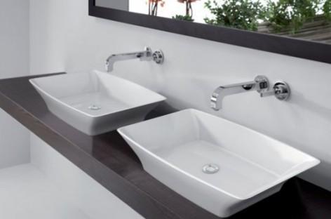 Cubas de pedra calcária são peças diferenciadas para seu banheiro