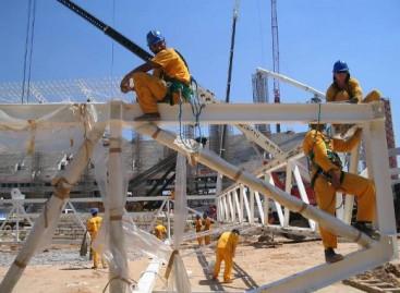 Empresa de RH auxilia contratação para a construção civil