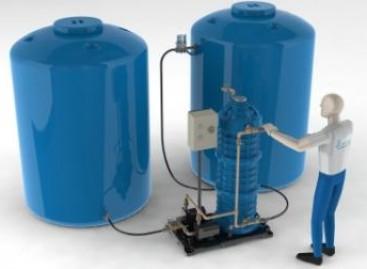 Sistema de aproveitamento de águas pluviais