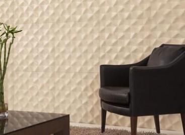 Revestimentos para paredes com efeitos especiais