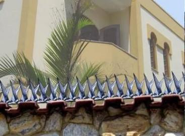 Pontas de lança: opção para segurança