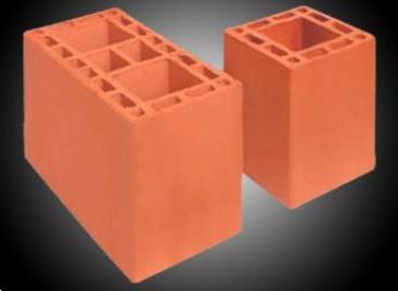 Tipos de aplicação para blocos de cerâmica
