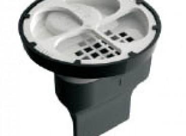 Caixa antiespuma para varandas e terraços