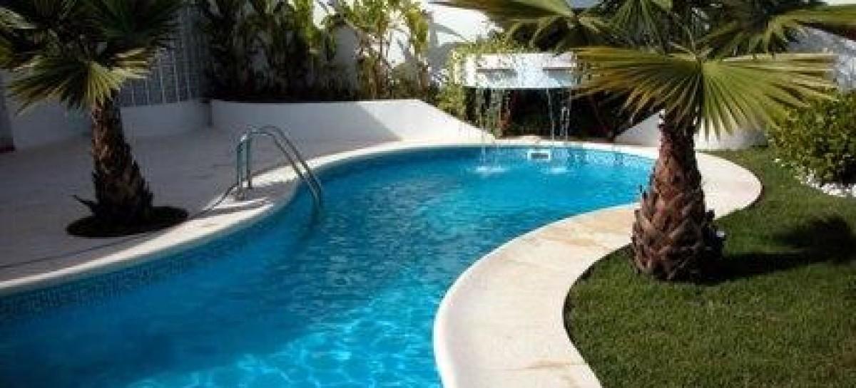 Revestimento de vinil para piscinas