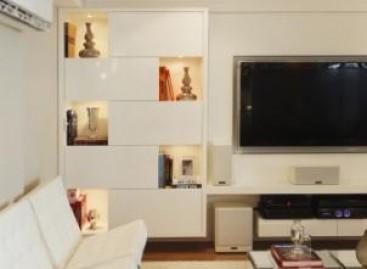 Decoração clean para apartamento de 285 m²