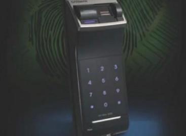 Fechadura biométrica de sobrepor
