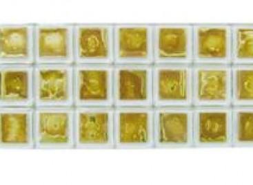 Pastilhas feitas com cristais