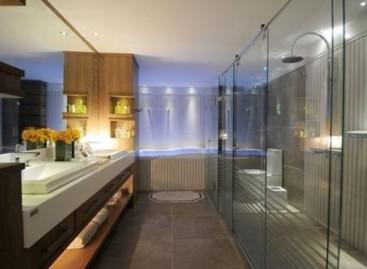 Banheiro privativo para loft
