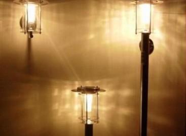 Luminária ecológica
