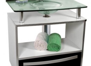 Kit prático para lavabo