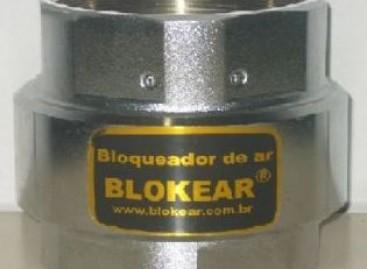 Bloqueador de ar para reduzir a conta de água