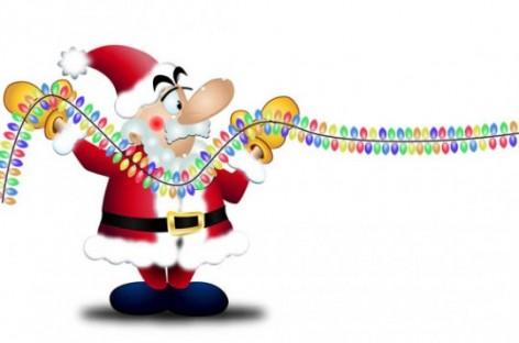 Cuidados na instalação elétrica dos enfeites de Natal