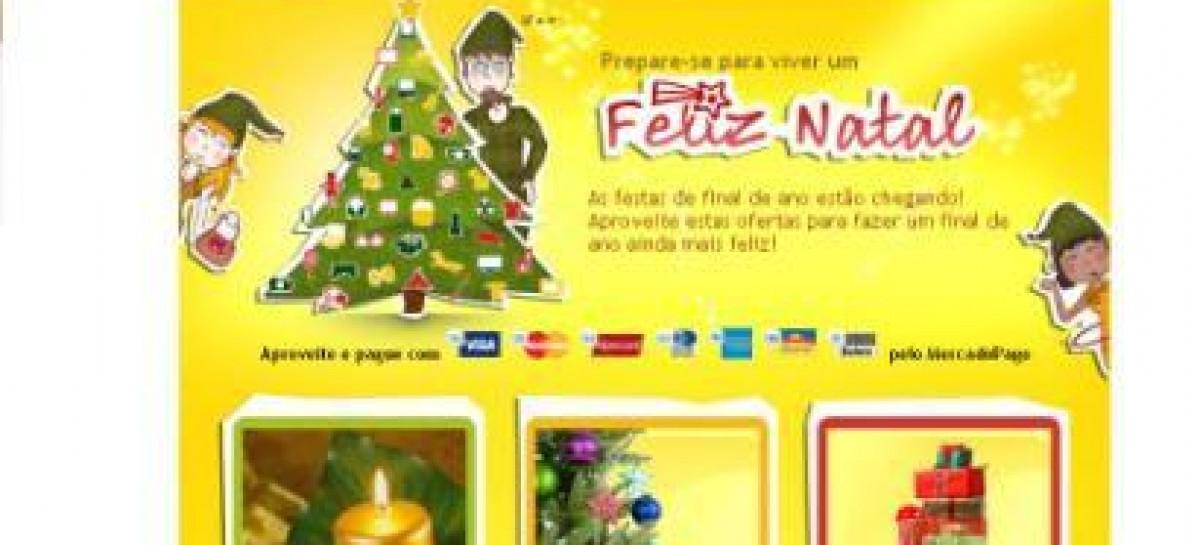 Site cria página com dicas de presentes e decoração para o Natal