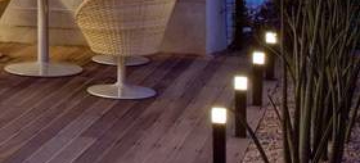 Iluminação para áreas externas