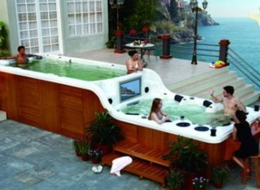 Primeiro spa-piscina do Brasil