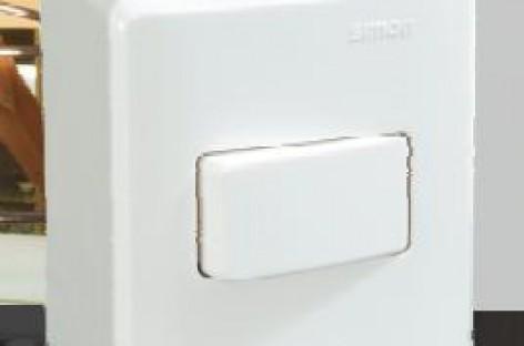 Tomadas e interruptores de sobrepor