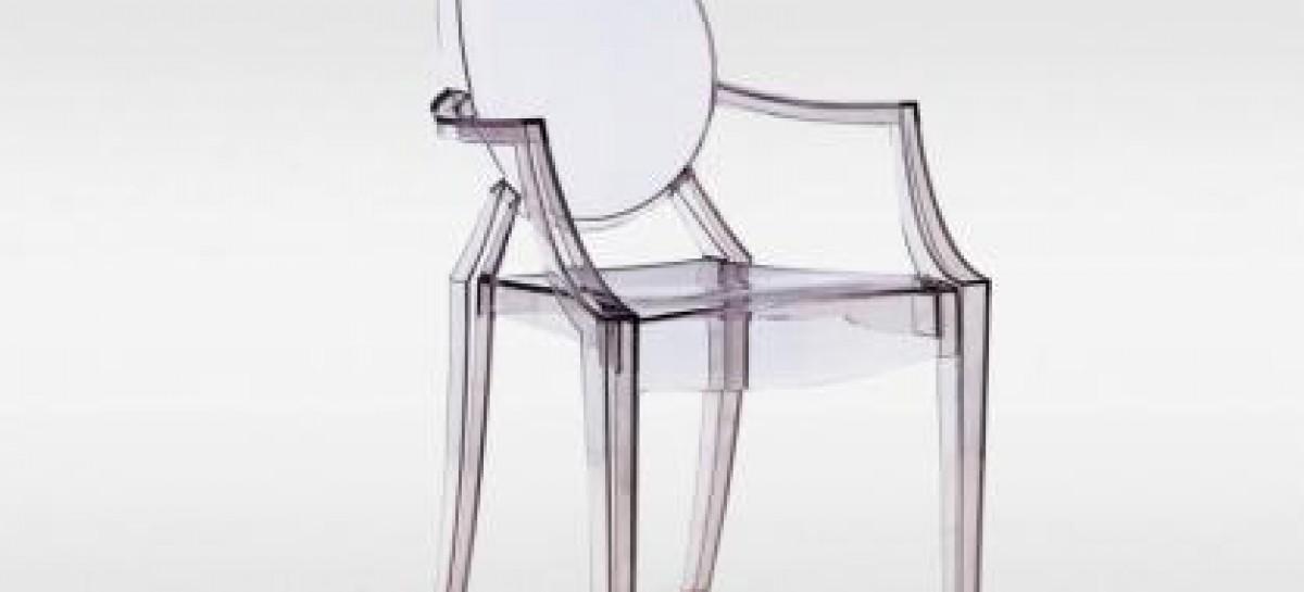 Cadeiras de acrílico